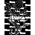 Sticker Laptop - Panou trandafir