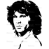 Sticker Laptop - Jim Morrison