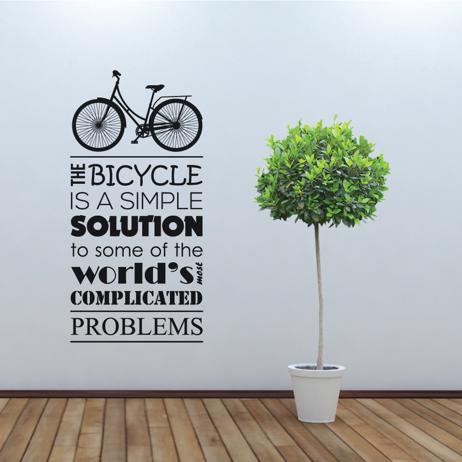 Bycicle Is The Solution