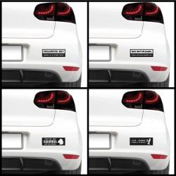 Sticker auto - Morocanos (pachet)