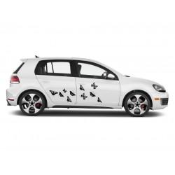 Sticker auto - Fluturi