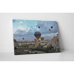 Calatorie cu balon cu aer cald