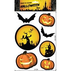 Pachet de Stickere Halloween 7 buc/set
