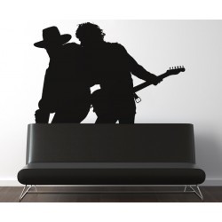 Bruce Springsteen si Clarence Clemons