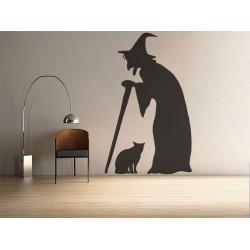 Vrajitoarea si pisica