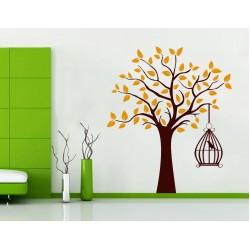 Pasare pe copac - MultiColor