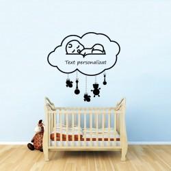 Decor pentru nou-nascut + Text personalizat