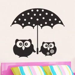 Bufnite sub umbrela