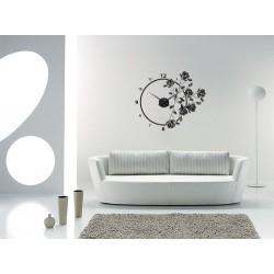 Magnolia + ceas perete