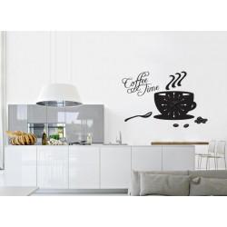 Ora de cafea + ceas perete
