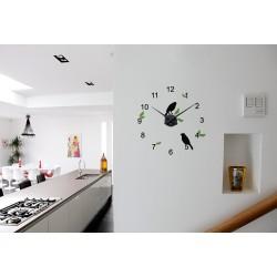 Ciocarlii + ceas perete (Multicolor)