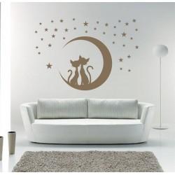 Pisici sub Luna