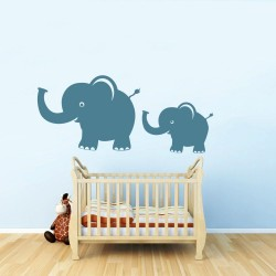 Familia de elefanti