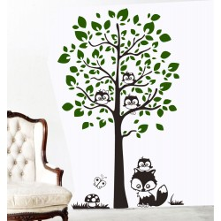 Bufnite pe copac