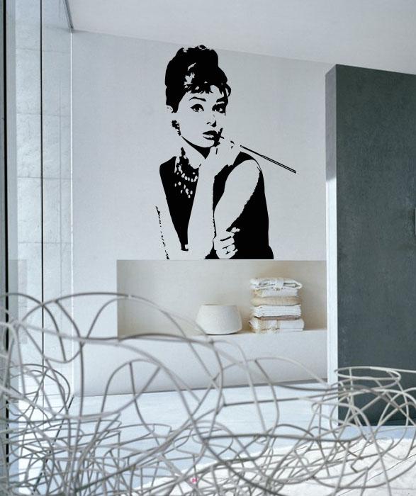 Audrey Hepburn - Sticker Decorativ thumbnail
