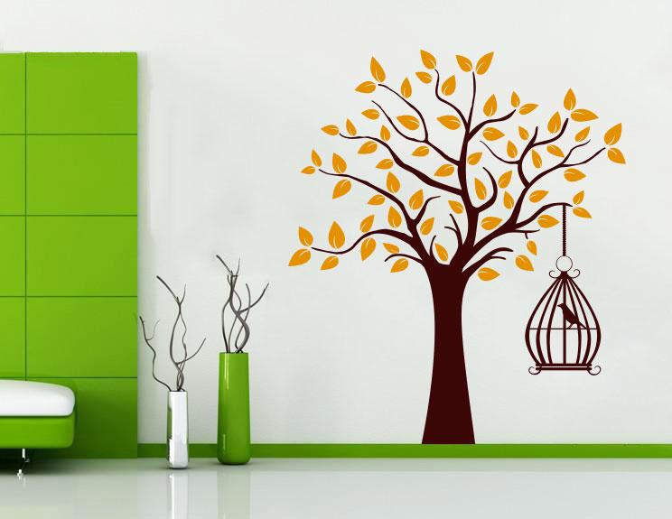 Pasare pe copac - MultiColor thumbnail