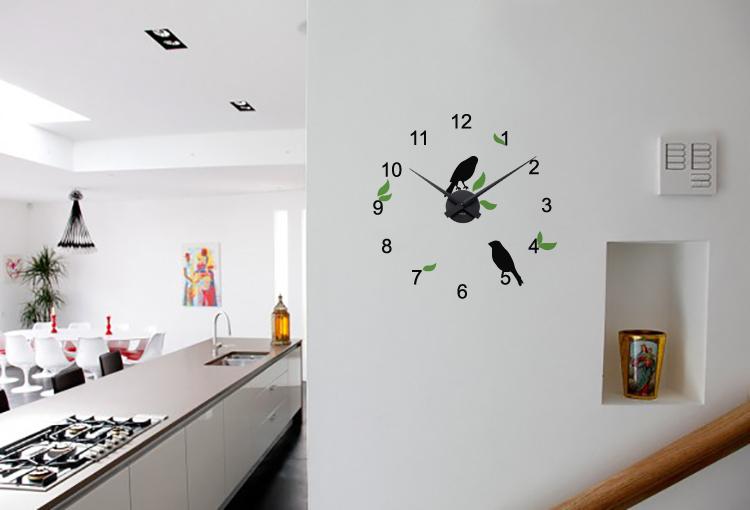 Ciocarlii + ceas perete (Multicolor) thumbnail